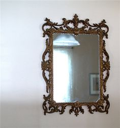 Vintage Victorian Boudoir Ornate Mirror A by thevintagetreehouse  #paris  #decor