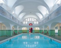 Image 1 of 25 from gallery of Swimming-Hall in Gotha / Veauthier Meyer Architekten. Photograph by Klemens Ortmeyer