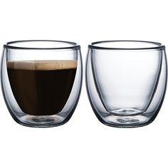 Conjunto Xícaras para Café em Vidro 2 Peças - Tramontina