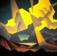 """High Desert Clouds"" by Ed Mell"
