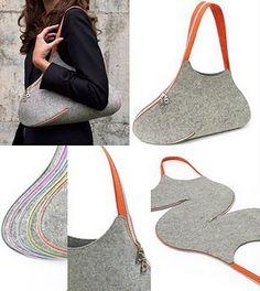 Как просто сделать оригинальную сумку-клатч - Ярмарка Мастеров - ручная работа, handmade