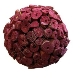 Red Decorative Balls Lime Splice Large Decorative Ballsangel Aromatics  Available