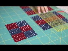 Patchwork base - Blocco 9 toppe - YouTube