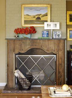 52 best fireplace screen images fireplace screens fire places rh pinterest com