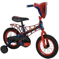 Huffy 12 inch Boys Bike - Spider-Man