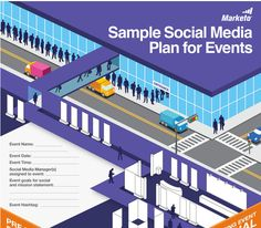 An infographic checklist to help you prepare an event marketing plan for Social Media. The information is from our Definitive Guide to Event Marketing.