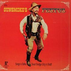 Gunsmoke's Festus Sings And Talks 'Bout Dodge City 'N Stuff -  Ken Curtis