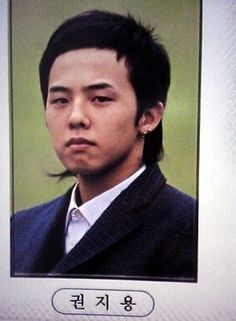 G-Dragon - Graduation Picture G Dragon Cute, G Dragon Top, Bigbang G Dragon, Vip Bigbang, Daesung, Cute Disney Drawings, Choi Seung Hyun, Ji Yong, Korean Star