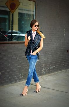Would wear this outfit in a nanosecond! Who makes these heels?! LOVE!