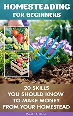 Homesteading For Beginners: 20 Skills You Should Know To Make Money From Your Homestead: (How to Build a Backyard Farm, Mini Farming Self-Sufficiency On . farming, How to build a chicken coop, ) - Kindle edition by Imogen Ross. Crafts, Hobbies & Home Ki Chicken Coop Decor, Backyard Chicken Coops, Building A Chicken Coop, Backyard Farming, Chickens Backyard, Backyard Barn, Permaculture Design, Homestead Farm, Homestead Survival
