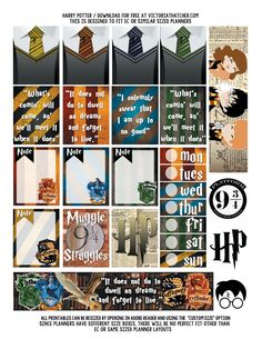 Etiquetas do Harry Potter para imprimir / Free printable labels of Harry Potter Harry Potter Anime, Harry Potter Diy, Stickers Harry Potter, Harry Potter Notebook, Harry Potter Planner, Classe Harry Potter, Harry Potter Printables, Harry Potter Drawings, Theme Harry Potter