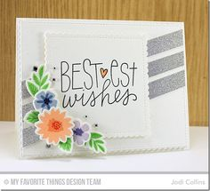 Featuring: Mini Modern Blooms, Mini Modern Blooms Die-namics and Birthday Wishes & Balloons!