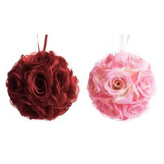 6 Rose Ball Pomander - Evelyn Style [GV Evelyn Rose Ball Pomander] : Wholesale Wedding Supplies, Discount Wedding Favors, Party Favors, and Bulk Event Supplies
