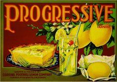 Corona lemon label