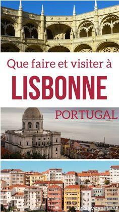 Portugal Voyage - Découvrez les choses à faire et les lieux à visiter à Lisbonne Portugal: églises, chateaux, points de vue, excursions... Et des infos pratiques   #Portugal   Portugal Lisbonne   Que faire au Portugal