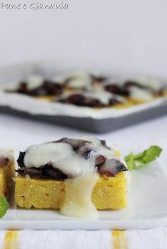 Crostoni di polenta e radicchio
