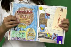 Art Journal Show - encourage kids to do it!