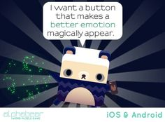 Better emotion button.... Good idea.