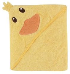 Baby Vision® Luvable Friends® Duck Embroidery Hooded Towel