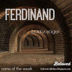Beloved: Beloved Blog's Names of the Week: Roselind and Ferdinand