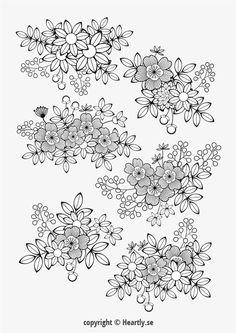 Kleurpboek Coloring page book - Målarbok för vuxna-016