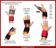 Best Gloves for Crossfit | HandBand Pro® V3
