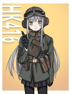 w/ Jager Elite skin Rainbow Six Siege Anime, Rainbow 6 Seige, Tom Clancy's Rainbow Six, Anime Military, Military Girl, Military Police, Anime Girl Neko, Anime Art Girl, Anime Girls