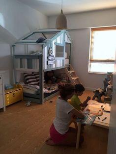 Make an Indoor Playhouse + Bunk Bed: IKEA MYDAL hack | IKEA Hackers | Bloglovin'