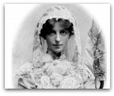 May Maxwell was one of the earliest and most distinguished Bahá'ís of the West.    May was taught the faith by Lua Getsinger in Paris. Mrs. Phoebe Hearst invited May to accompany her and other Bahá'ís to the Holy Land to meet 'Abdu'l-Bahá, Head of the Bahá'í Faith.