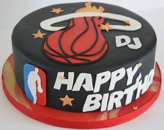 Miami Heat Cake by creative and delicious sweets (Sandy), via Flickr