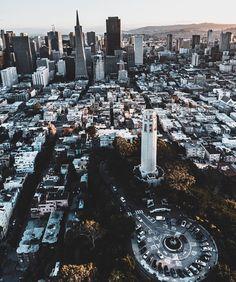 San Francisco California by @highway65 #sanfrancisco #sf
