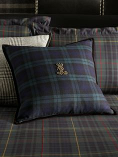 Essex Black Watch Throw Pillow - Ralph Lauren Home Throw Pillows - RalphLauren.com