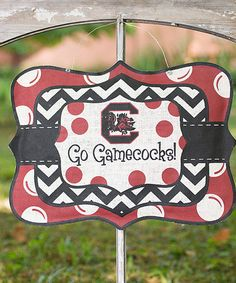 South Carolina Gamecocks Burlee Sign