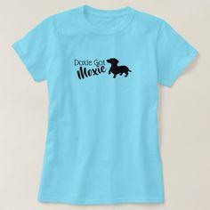 Doxie Got Moxie Women's Basic T-Shirt - personalize cyo diy design unique