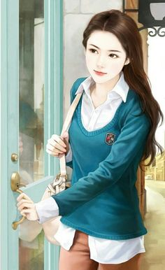 """""""Whatever has the nature of arising has the nature of ceasing."""" The Buddha, Kimsuka Sutta Chinese Drawings, Chinese Art, Chinese Painting, Lovely Girl Image, Girls Image, Art Chinois, Cute Girl Drawing, Cute Girl Wallpaper, Painting Of Girl"""