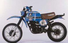 Yamaha Paris Dakar Rally   Yamaha XT500 1979 Paris-Dakar Rally