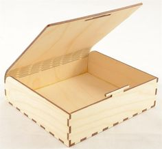 A snap fit wood box.  No hardware or nails holding this together at all.  Made in our facility in the USA!