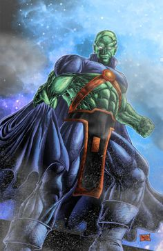 Martian Manhunter by Premiroklase