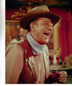Love to see Duke laugh Music Film, Art Music, I Movie, Movie Stars, Cowboy Films, John Wayne Movies, Perry Como, True Legend, Tv Westerns