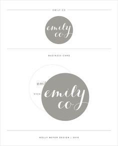 Holly Meyer Design #logo #branding #brandstyleguide #logoboard #brandboard