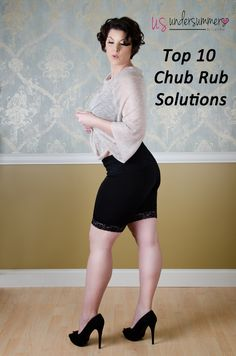 The best chub rub solutions for thigh chafing.  Use code PINTEREST for 10% off your first order.  Offer valid through 4/30/17