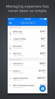 Trippeo is the simplest and fastest way to manage all your business expenses and travel.