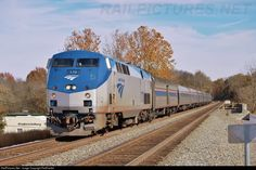 RailPictures.Net Photo: AMTK 170 Amtrak GE P42DC at Fredericksburg, Virginia by RailFan94