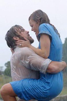 Increíble. Ryan Gosling y Rachel Mc Adams. Uno de los mejores besos de la historia del cine.