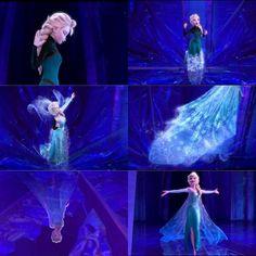 Let it Go (Elsa/Idina Menzel) - Frozen Frozen And Tangled, Frozen Elsa Dress, Disney Frozen Elsa, Frozen Musical, Disney Nerd, Disney Love, Disney Magic, Disney Films, Disney Pixar