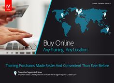 Advertisements for Adobe.com on Behance
