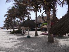 Kombo Beach at The Gambia