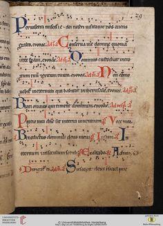 Antiphonarium Cisterciense Salem, um 1200 Cod. Sal. X,6b  Folio 29r