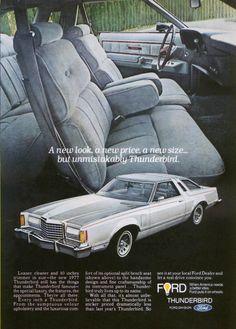 Thunderbird, leaner cleaner trimmer ad 1977