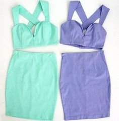 love these matching two-piece sets